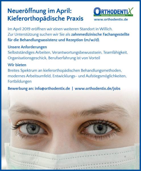 Othodentix Willich Kfo Zfa Zahnmedizinische Fachangestellte Job Stelle