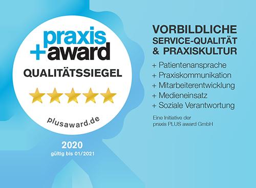 PraxisPlusAward-Qualitaetssiegel-2020