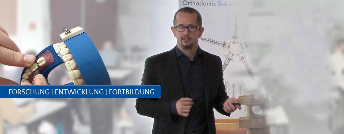 Forschung Endwicklung Fortbildung Slider Orthodentrix