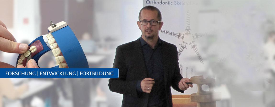 Forschung Fortbildung Lehre Slider Orthodentix