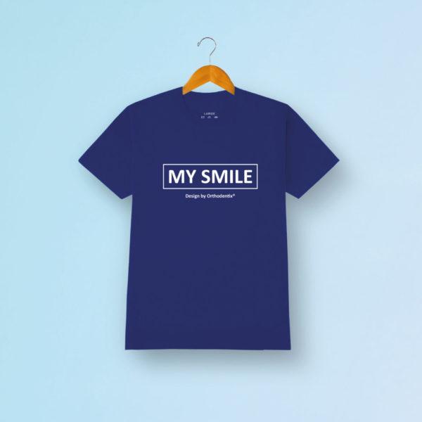 My Smile Tshirt Blau