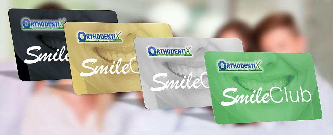 Smile Club Programm – Kundenkarten